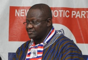 Paul Afoko national chairman of the opposition New Patriotic Party