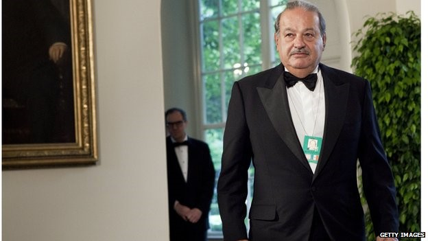 A slimmer empire - billionaire Carlos Slim is to break up America Movil in the face of telecoms reform in Mexico