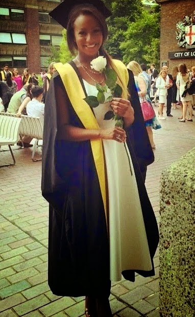 Femi Otedola?s Daughter Graduates From Kings College UK