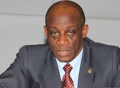 Seth Terkper, Ghana's Finance Minister