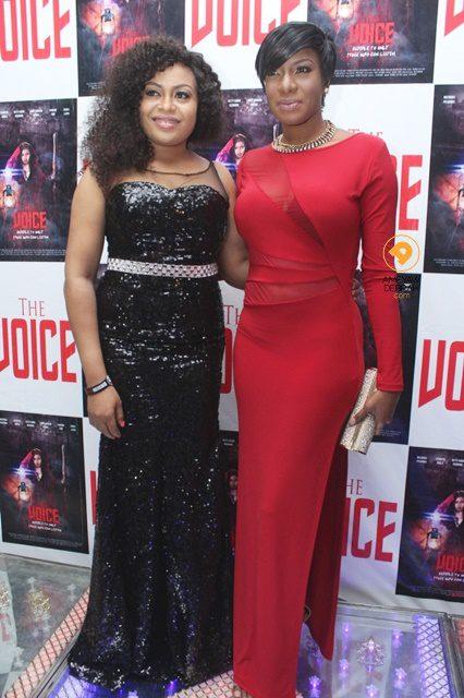 Nkiru Sylvanus? The Voice Premieres In Lagos   News Ghana