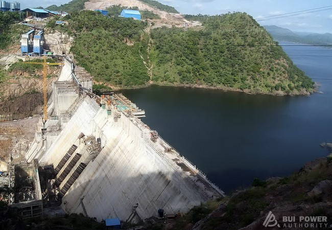 Bui hydro-electric dam