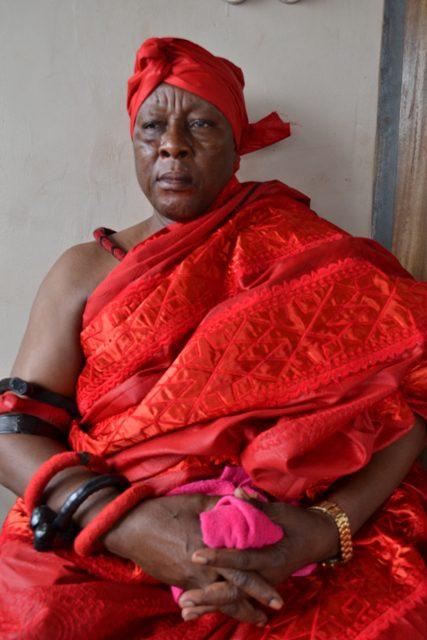 Dzaasetse and Acting Mantse of Weija, Nii Ogbedada Nii Boafo Danyina-Nse I