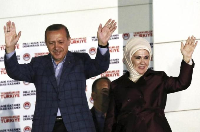Erdogan, who became prime minister in 2003, won the country's presidential election on August 10 [AP]