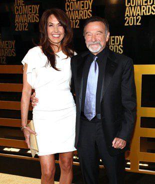 Robin and wife Susan Schneider