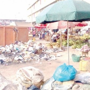 Our marketplaces where we derive nourishment are often full of filth ?