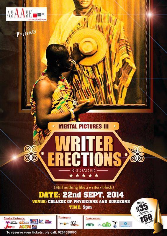 WRITERS ERECTION