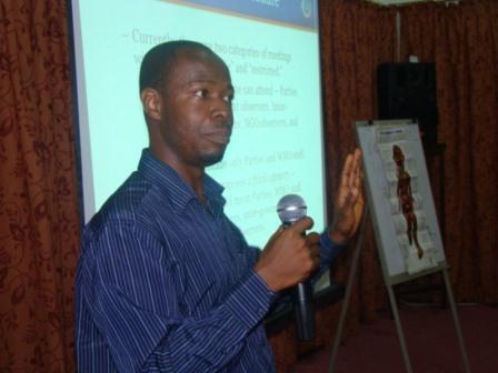 Mr Labram Musah, Programme Director of VALD