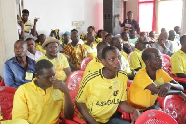 AshGold Players and supporters