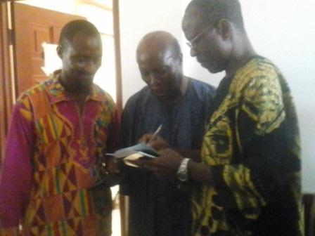 Professor Emeritus Lade Wosornu, Mr Adjei Agyei-Baah, Lecturer
