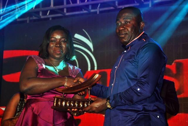 Osei Kwame Despite Receiving Music Industry Pillar Plaque