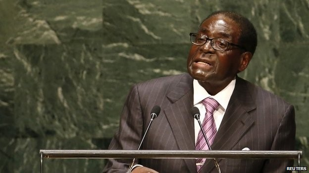 """""""Evil machinations"""" - Zimbabwe's president criticises the policies of the European Union and United States"""