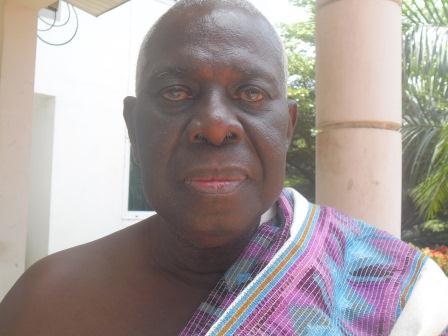 Osahene Kwaku Aterkyi II, Omanhene of Kukuom Traditional Area.