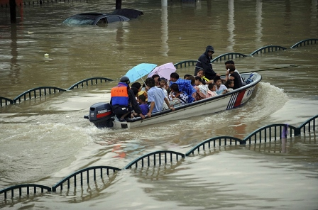 China has been hit by heavy rainfall and flooding over the last few weeks [Reuters File Photo]