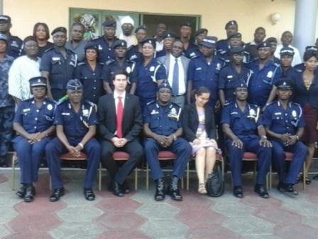 Picture of the police officers