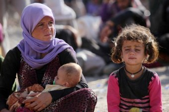 Women and children from Iraqi Yezidi minority taken as slaves