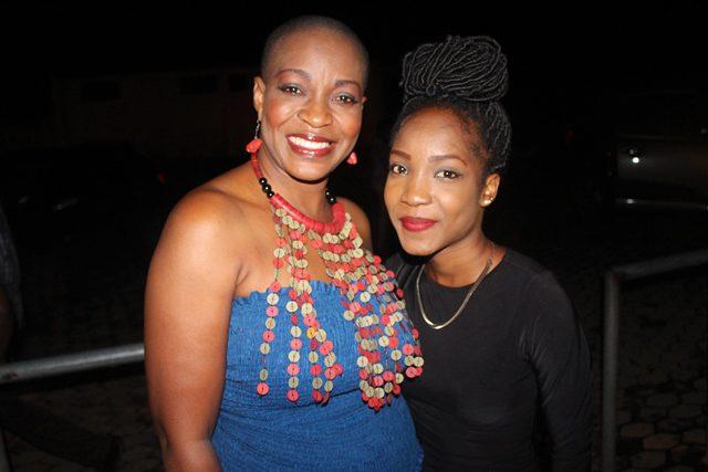 Akorfa and her daughter, Fali