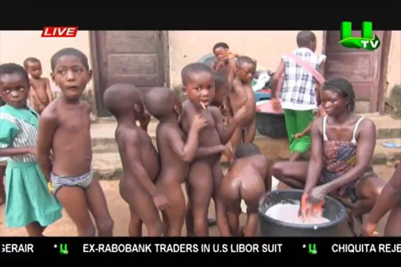 Ghana orphanage scams