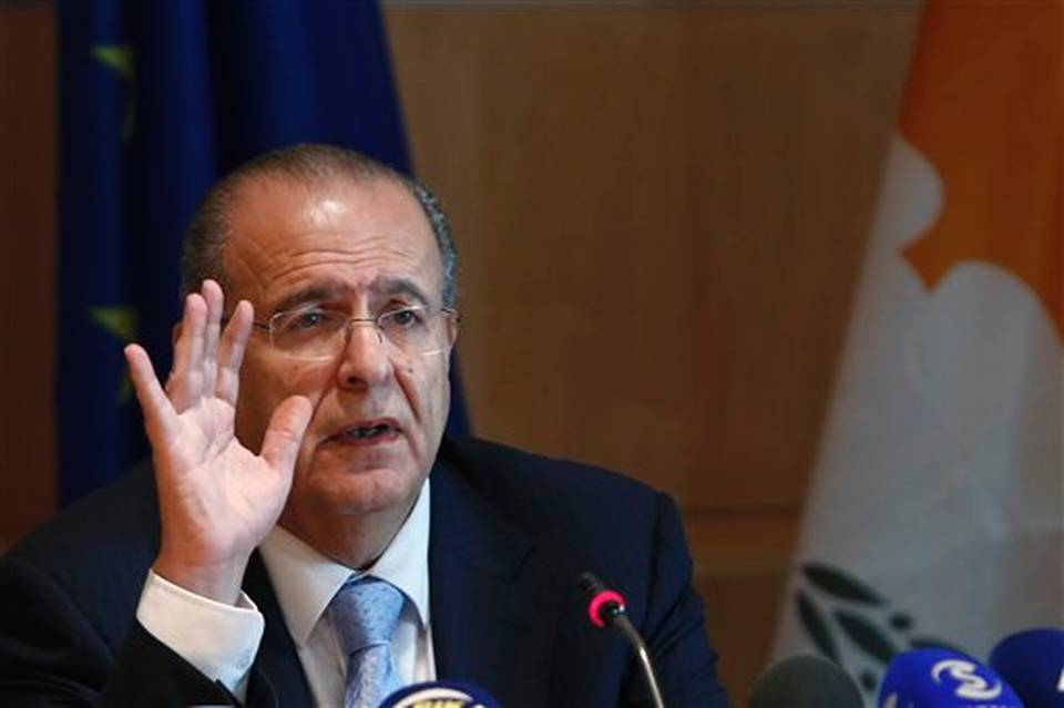 Cyprus Foreign Minister Ioannis Kasoulides