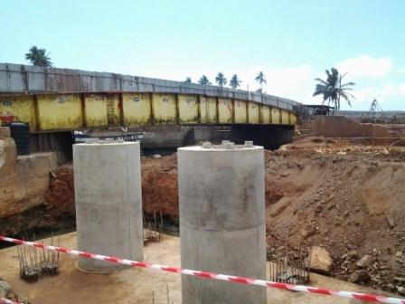 Elmina Benya Bridge ongoing