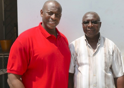 Herbert Mensah and Steve Noi.