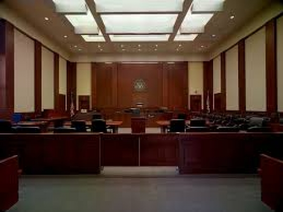 Houston federal courtroom