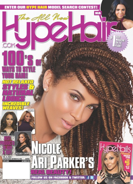 Hype Hair Mag October