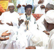 Sheikh Osman Nuhu Sharubutu and Dr Bawumia