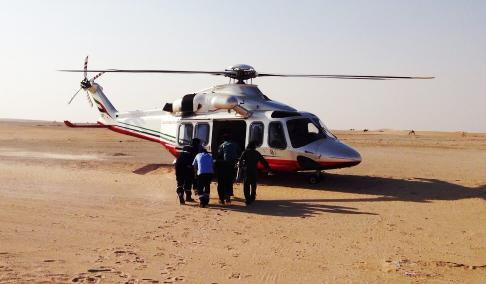 Abu Dhabi Police Airlifts
