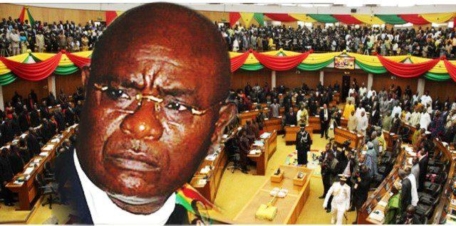 Speaker of Ghana?s Parliament, Edward Doe Adjaho