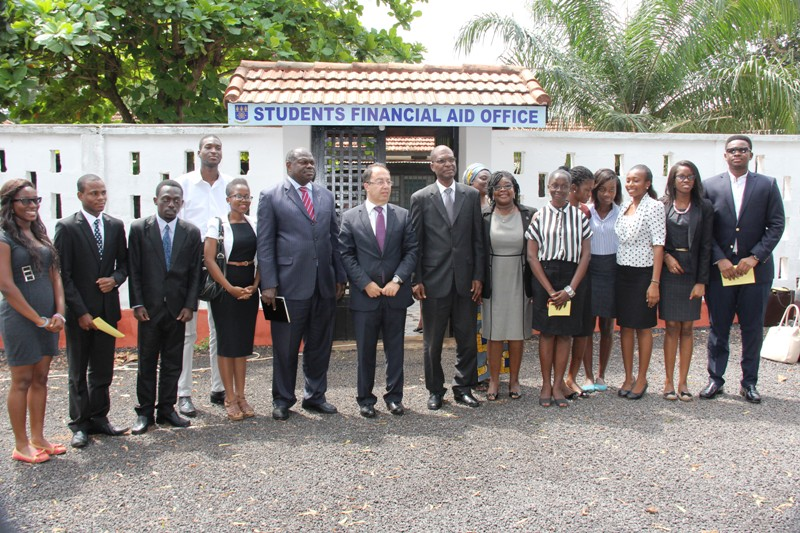 Eleven Law Students of the University of Ghana received Scholarship from the Lebanon Ambassador in Ghana