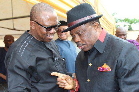 Governor Obiano & former Governor Peter Obi