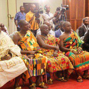 Adansi/Amansie chiefs were present at the confab