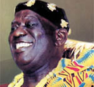 Osabarima Kwasi Atta II,Omanhene of the Oguaa Traditional Area,