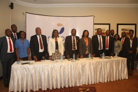 Cross section of sanofi delegates and Pediatric Association of Nigeria Delagates at the press conference on World Pneumonia Day Celebration at Protea Hotel, Ikeja, Lagos, recently.