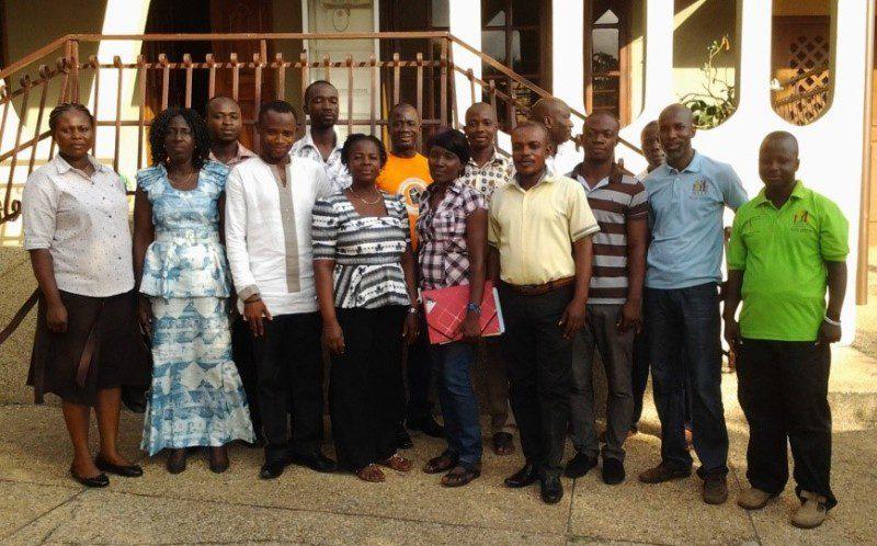 Participants at the NCCE workshop