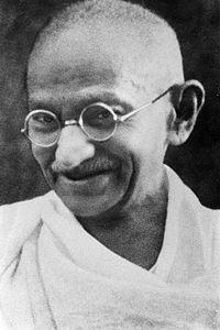 Mahatma Mohandras Gandhi