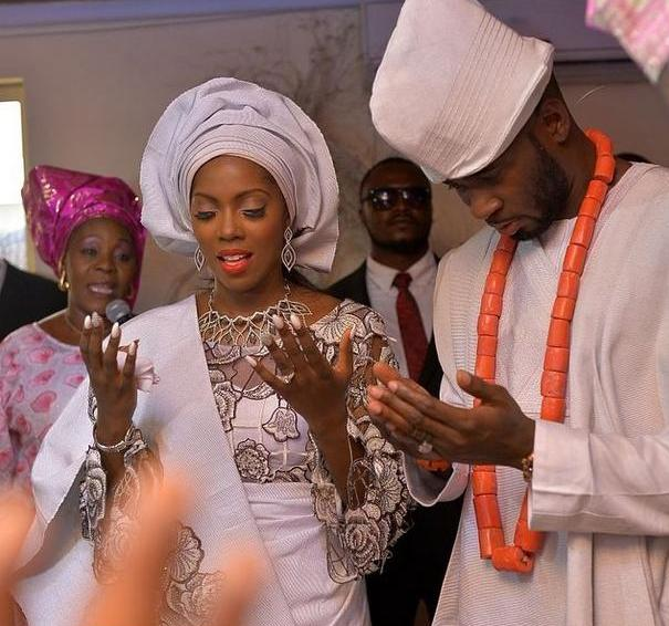 Tiwa Savage And Tee Billz's Wedding Anniversary | News Ghana