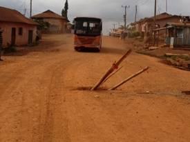 Main Highway - Kade (Mining town) to Nkawkaw (Commercial metro) (By Rev. G. Asomaning, Esq., April 2013)