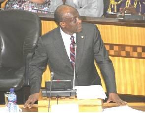 Seth Terkper, Minister of Finance