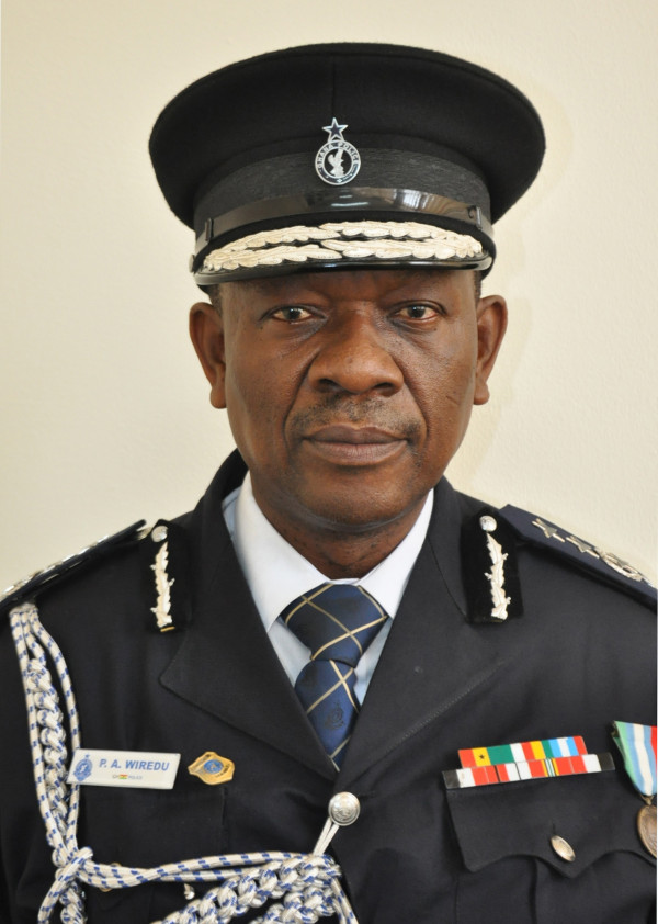 COP Peter A. Wiredu-Ag. Director of Immigration Service