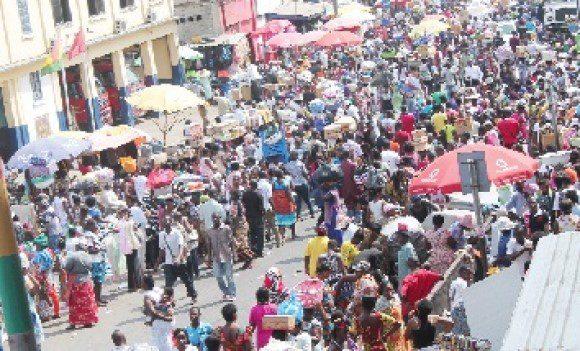CBD of Accra