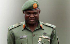 Chief of Army Staff General Kenneth Minimah