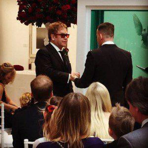 Elton John Marries David Furnish