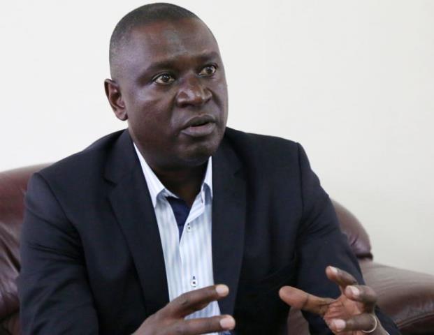 Gasamagera during the interview. (Timothy Kisambira)