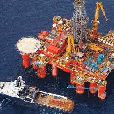 Ghanas Oil Rig