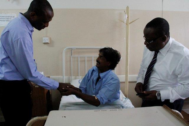 MD at the Male Medical Ward