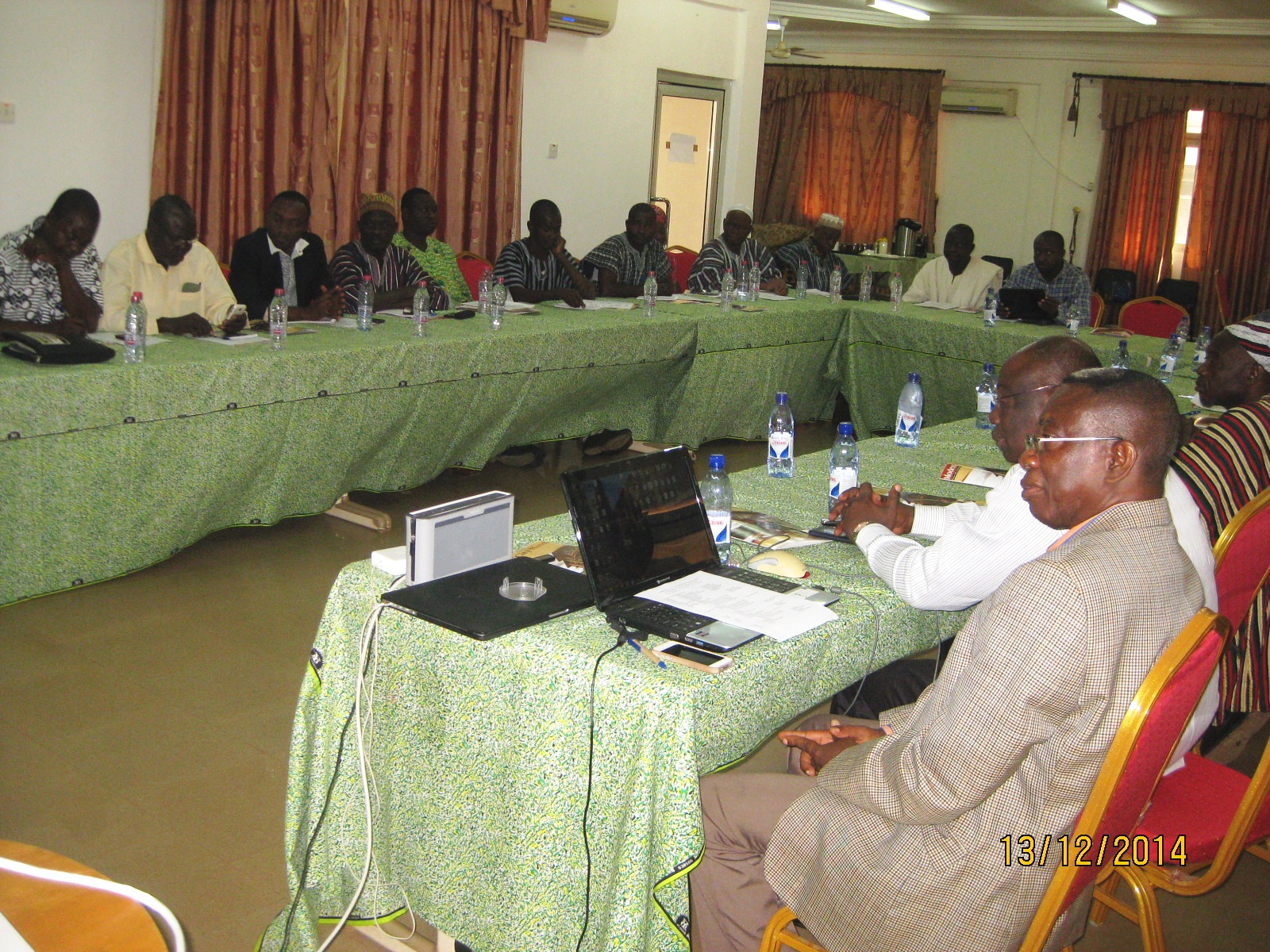 Participants at the Local Assemblies' leadership workshop