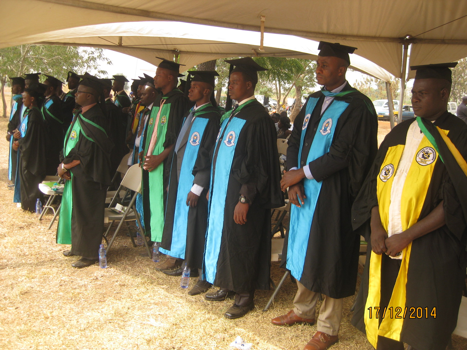 Picture shows some of the graduands
