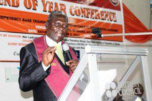 Reverend Eric Ankrah, IET, Ghana President